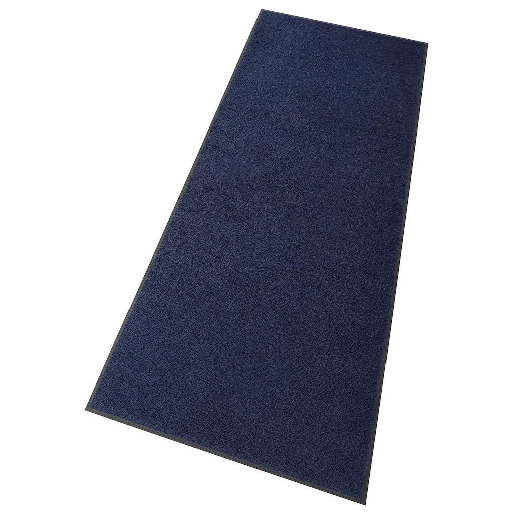 wash+dry by Kleen-Tex Läufer »Original Uni«, rechteckig, 9 mm Höhe, Schmutzfangläufer, Schmutzfangteppich, Schmutzmatte, In- und Outdoor geeignet, waschbar