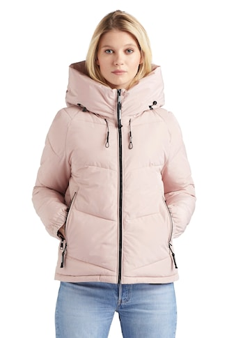 khujo Steppjacke »ESILA«, stylische Damen Steppjacke mit grosser Kapuze kaufen