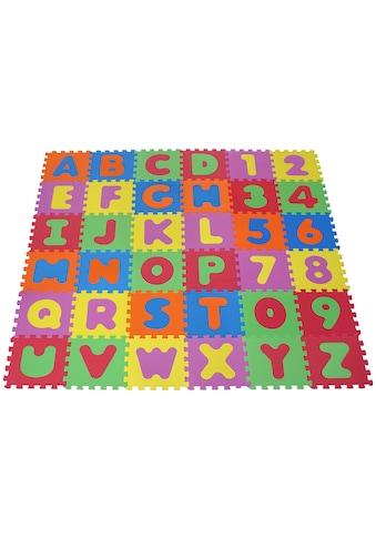 Knorrtoys® Puzzle »Alphabet und Zahlen«, Puzzlematte, Bodenpuzzle kaufen