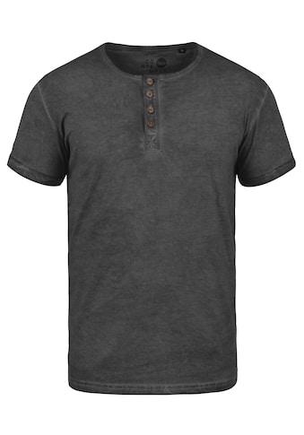 Solid Rundhalsshirt »Tihn«, Kurzarmshirt mit Brusttasche kaufen