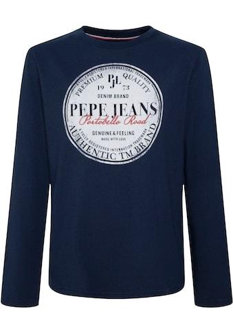 Pepe Jeans Langarmshirt »JAMESS« kaufen