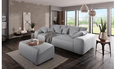 Home affaire Big-Sofa »Sundance«, mit vielen Kissen, Breite ca. 306 cm,... kaufen