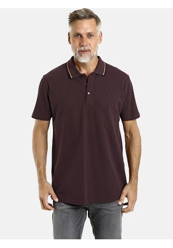 Jan Vanderstorm Poloshirt »BEKAN«, Seitenschlitze, Comfort Fit kaufen