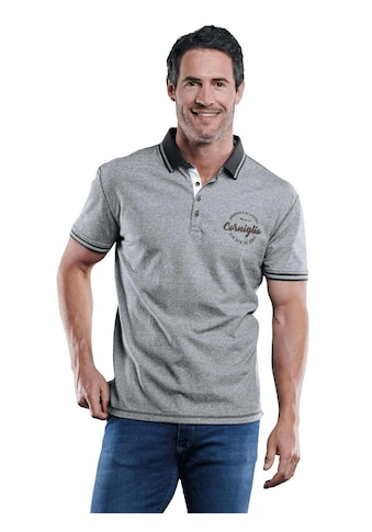 Engbers Sportives Poloshirt mit Badge kaufen