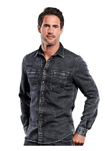 Engbers Komforthemd Denimoptik kaufen