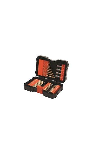 Black + Decker Bohrer- und Bit-Set »A7227-XJ«, (41 tlg.) kaufen