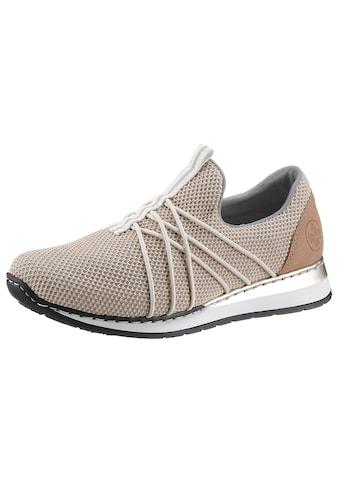 Rieker Slip-On Sneaker, mit Gummizug-Bändern kaufen