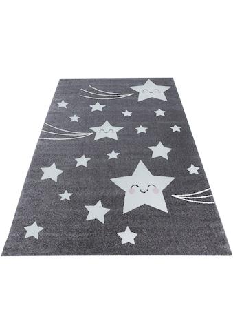 Kinderteppich, »Kids 610«, Ayyildiz, rechteckig, Höhe 12 mm, maschinell gewebt kaufen