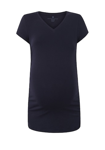 Bellybutton Umstandsshirt »Shades of Blue«, Umstandsshirt kurzärmlig kaufen