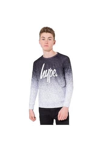 Hype Sweatshirt »Jungen mit Spritzdruckmuster und Logo - Schriftzug« kaufen