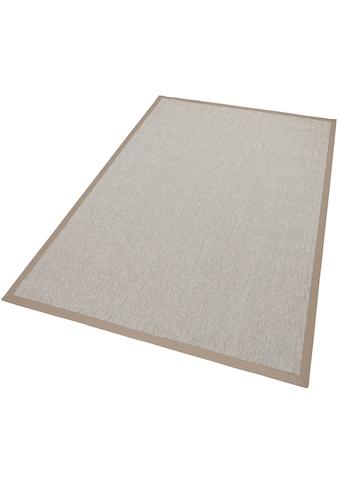 Dekowe Teppich »Naturino Rips, Wunschmass«, rechteckig, 7 mm Höhe, Flachgewebe,... kaufen