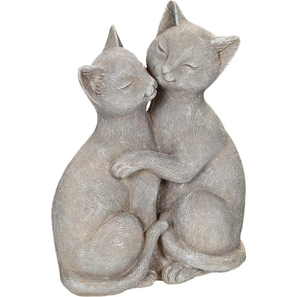Ambiente Haus Dekofigur »Katzenpärchen«, Höhe 15 cm