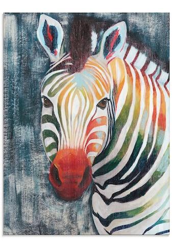Artland Glasbild »Prisma Zebra II« kaufen