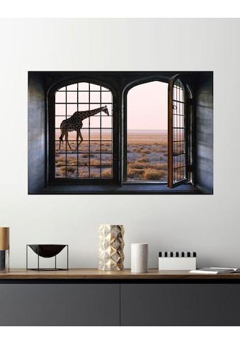 queence Wandsticker »Giraffe« kaufen