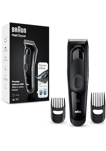 Braun Haar- und Bartschneider »HC5050«, 2 Aufsätze, ultimatives Haarschneiden,... kaufen