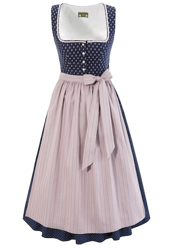 Love Nature Dirndl, (2 tlg.), midi mit traditionellem Rankenmuster - Made in Austria kaufen