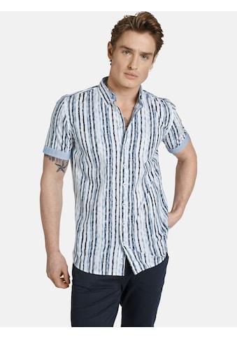 SHIRTMASTER Kurzarmhemd »bluestripes« kaufen
