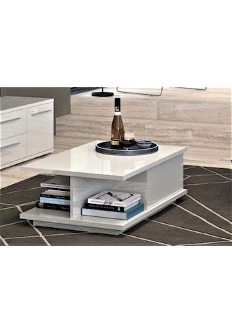Places of Style Couchtisch »Piano«, UV lackiert, Wohnzimmer Tisch mit Schublade inkl.... kaufen