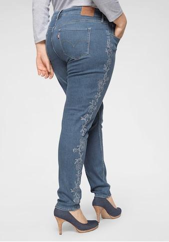 Levi's® Plus Skinny - fit - Jeans »310 mit Stickerei« kaufen