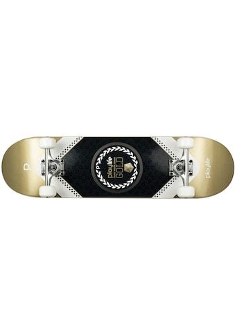 Playlife Skateboard »Heavy Metal Goldfarben« kaufen