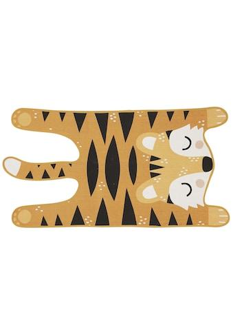 Teppich »Theo Tiger«, quadratisch, - mm Höhe kaufen