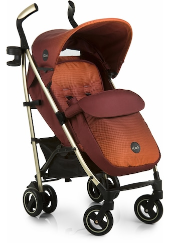 iCoo Kinder-Buggy »Pace Mocca«, mit leichtem Aluminiumgestell; Kinderwagen, Buggy,... kaufen