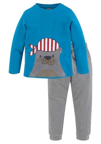 KIDSWORLD Shirt & Hose, mit lustigem Robbendruck kaufen