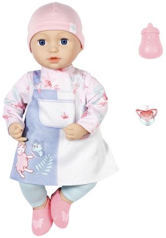 Baby Annabell Babypuppe »Mia, 43 cm«, mit Schlafaugen und Schnuller kaufen