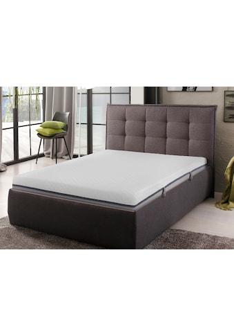my home Komfortschaummatratze »Neo«, (1 St.), mit 3 cm hoher, atmungsaktiver, weicher Softschaumauflage «Air Foam», gute Körperanpassung und angenehme Druckentlastung kaufen