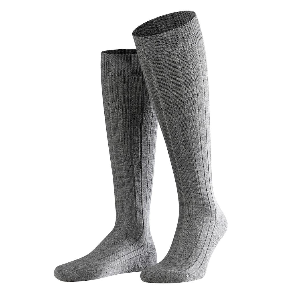 FALKE Kniestrümpfe »Teppich im Schuh«, (1 Paar), mit Sohlenpolsterung