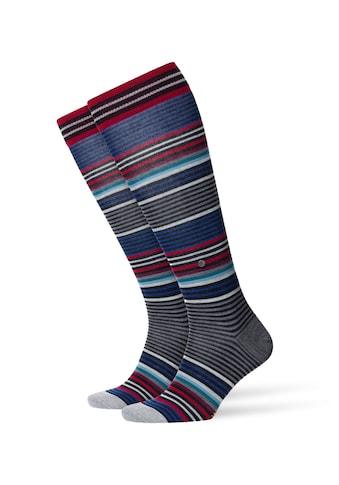 Burlington Kniestrümpfe »Stripe«, (1 Paar), mit hohem Schurwoll-Anteil kaufen