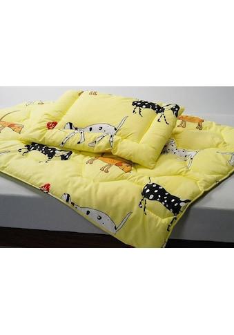 Kyburz Einziehdecke »Kinderduvet bedruckt, Kyburz«, Füllung 100% Polyester Marken-Hohlfaser, Bezug 100% Baumwolle bunt bedruckt, mit Wellensteppung, (1 St.) kaufen