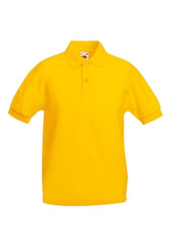 Fruit of the Loom Poloshirt »Kinder Polo Shirt, Kurzarm« acheter