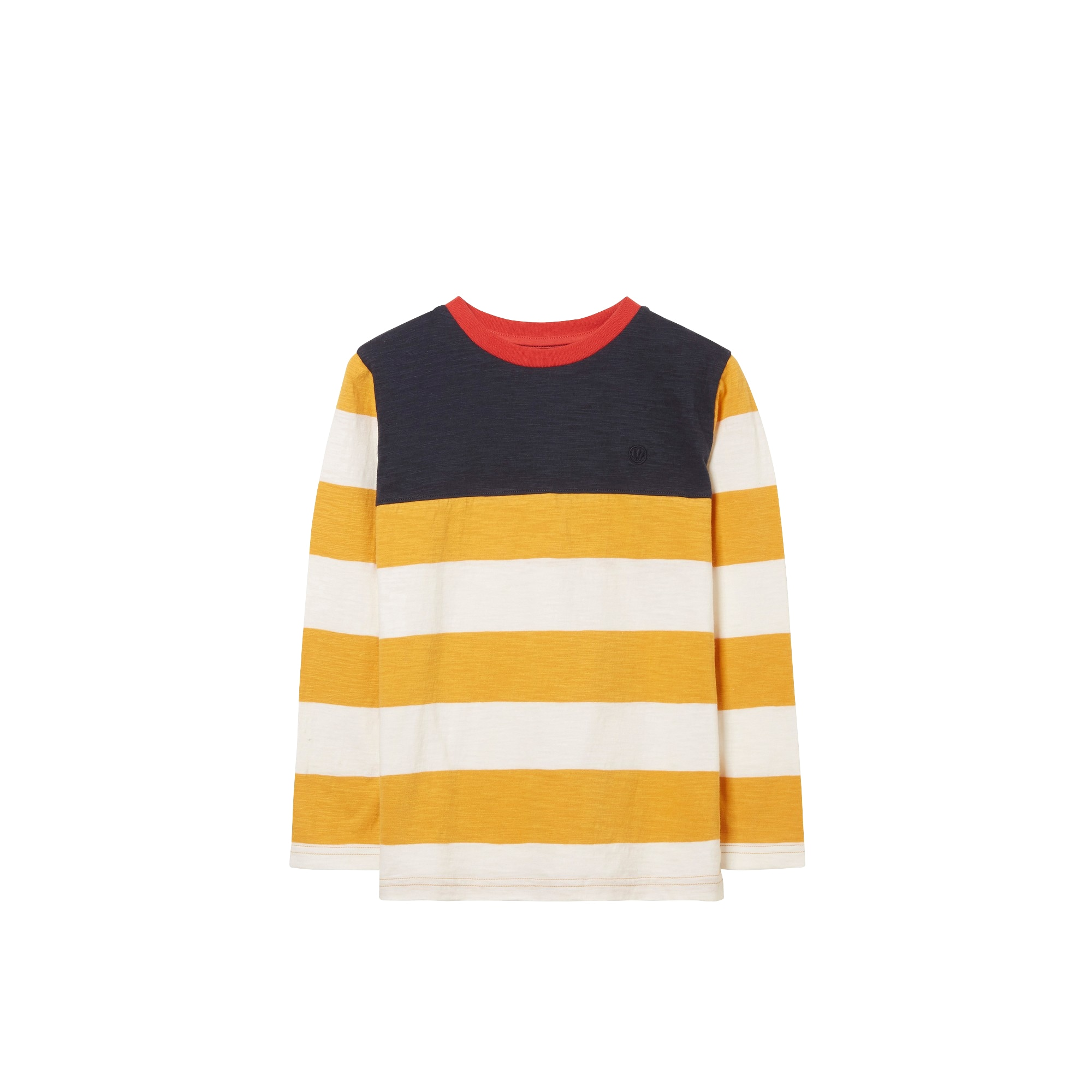 Image of FatFace Langarmshirt »Kinder Langarmtop mit Blockstreifen«