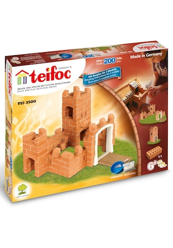 "teifoc Konstruktions - Spielset ""Burg"", Ton, (200 - tlg.) kaufen"