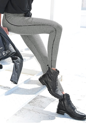 LASCANA Leggings, mit Pepita Muster kaufen