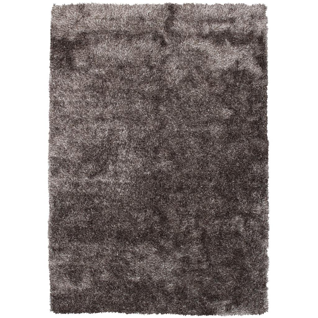 Kayoom Hochflor-Teppich »Diamond 700«, rechteckig, 45 mm Höhe, Besonders weich durch Microfaser, Wohnzimmer