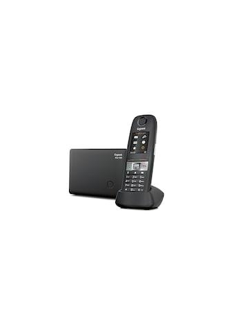 Gigaset Schnurloses DECT-Telefon »E630 Anthrazit Grau«, (Mobilteile: 1 ) kaufen