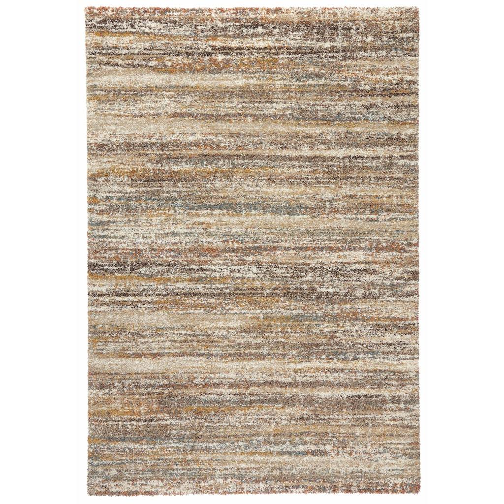 MINT RUGS Hochflor-Teppich »Granite«, rechteckig, 25 mm Höhe, Wohnzimmer