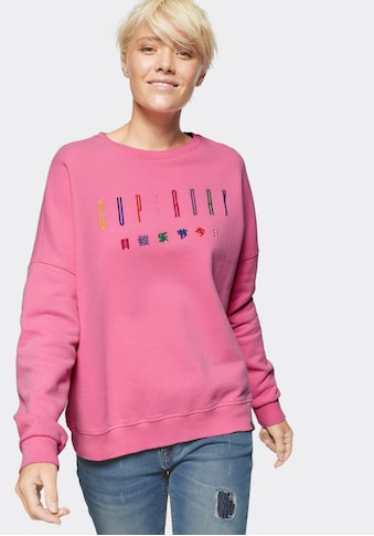 Superdry Sweatshirt »CARLY CARNIVAL EMBROIDERED CREW« kaufen