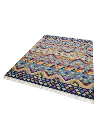 Teppich, »Koos«, Theko Exklusiv, rechteckig, Höhe 8 mm, handgewebt kaufen