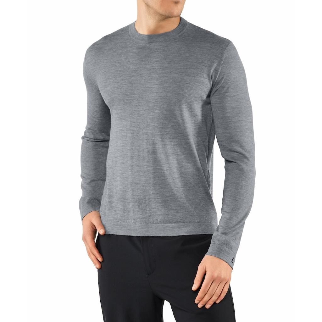 FALKE Trainingspullover »Pullover«, mit hochwertigem Kaschmir