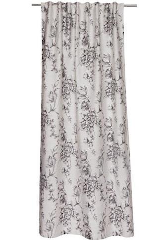 SCHÖNER WOHNEN-Kollektion Vorhang nach Mass »Vintage«, Blütendesigns in Jaquardstruktur kaufen