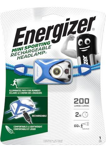 Energizer Kopflampe »Rechargeable Sport Headlamp« kaufen
