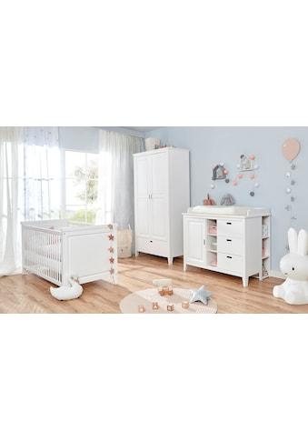 Ticaa Babyzimmer-Komplettset »Morgenroth«, (Set, 4 St.), Bett + Wickelkommode +... kaufen