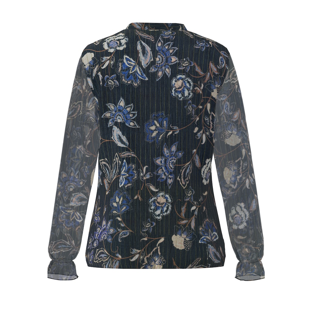 bianca Langarmbluse »ALEXIA«, mit floralem Print in Chiffon-Optik