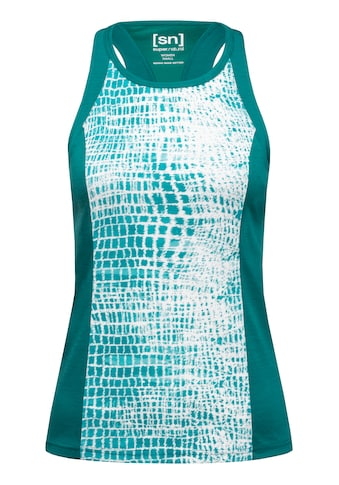 SUPER.NATURAL Tanktop »W Motion Round Neck Tank Printed«, toller Merino-Materialmix kaufen