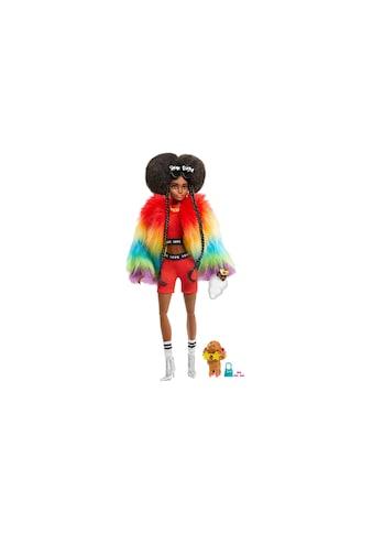 Barbie Spielfigur »Extra mit Afro und Regenbogen-Jacke« kaufen