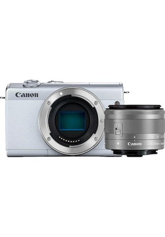 Canon Systemkamera »EOS M200 EF-M 15-45mm f3.5-6.3 IS STM Kit«, EF-M 15-45mm f/3.5-6.3... kaufen