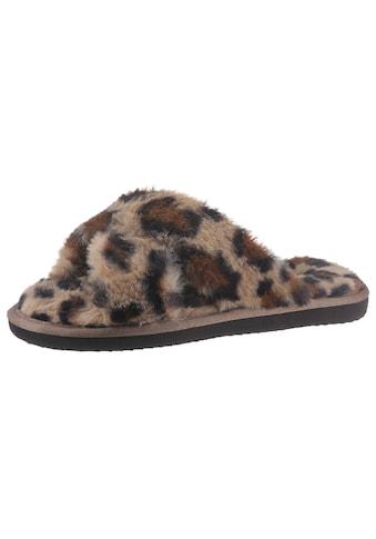 Flip Flop Pantoffel »CROSS*FUR LEO« kaufen